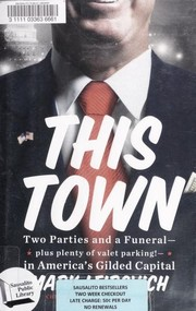 Cover of: This town | Mark Leibovich