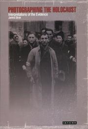 Cover of: Photographing the Holocaust