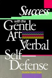 Cover of: Success with the gentle art of verbal self-defense