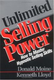 Cover of: Unlimited selling power