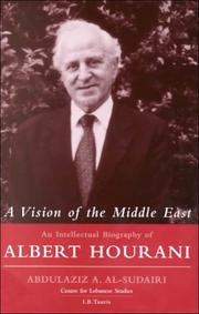 Cover of: A Vision of the Middle East
