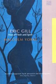 Cover of: Eric Gill
