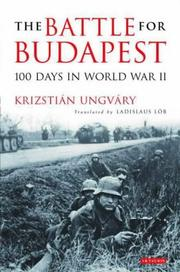 Cover of: The Battle for Budapest