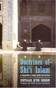 Cover of: Doctrines of Shi`i Islam