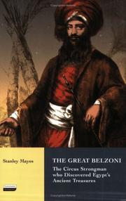 Cover of: great Belzoni | Stanley Mayes