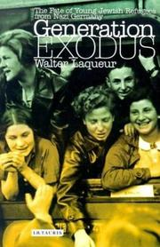 Cover of: Generation Exodus: The Fate of Young Jewish Refugees from Nazi Germany