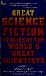 Cover of: Great Science Fiction: Stories by the World's Greatest Scientists