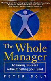 Cover of: The Whole Manager