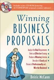 Cover of: Winning Business Proposals