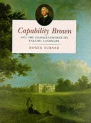Cover of: Capability Brown and the Eighteenth-Century English Landscape