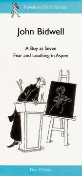 Cover of: A Boy at Seven, Fear and Loathing in Aspen (Travelman Short Stories)