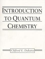 Cover of: Introduction to quantum chemistry