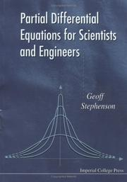 Cover of: Partial Differential Equations for Scientists and Engineers | G. Stephenson