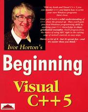 Cover of: Beginning Visual C++ 5