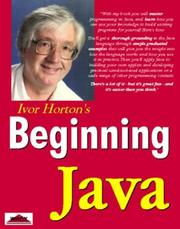 Cover of: Beginning Java