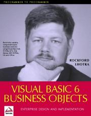 Cover of: Visual Basic 6.0 Business Objects