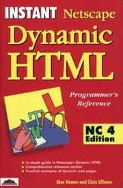 Instant Netscape dynamic HTML, NC4 edition