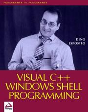 Cover of: Visual C++ Windows Shell Programming