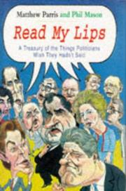 Cover of: Read my lips