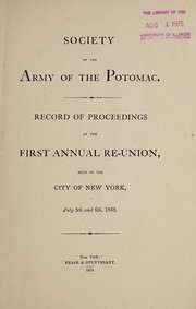 Cover of: The Army of the Potomac