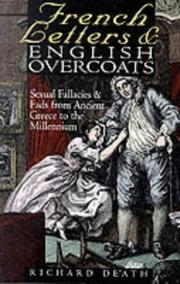 Cover of: French Letters and English Overcoats