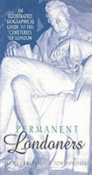 Cover of: Permanent Londoners