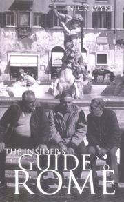 Cover of: The Insider's Guide Rome