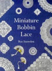 Cover of: Miniature bobbin lace