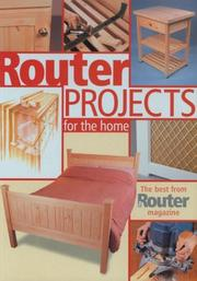 Cover of: Router Projects for the Home