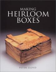 Cover of: Making Heirloom Boxes
