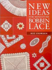 Cover of: New ideas for miniature bobbin lace