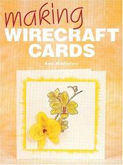 Cover of: Making Wirecraft Cards