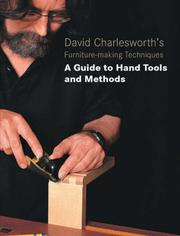 Cover of: David Charlesworth's furniture-making techniques
