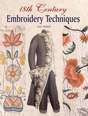 Cover of: 18th Century Embroidery Techniques