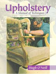 Cover of: Upholstery