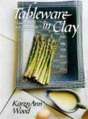 Cover of: Tableware in Clay