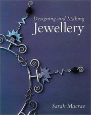 Cover of: Designing and Making Jewellery