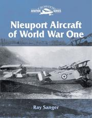 Cover of: Nieuport Aircraft of Wold War One (Crowood Aviation)