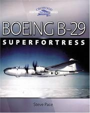 Cover of: Boeing B-29 Superfortress | Steve Pace