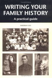 Cover of: Writing Your Family History
