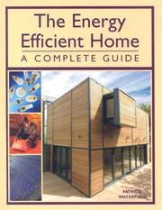 Cover of: The Energy Efficient Home