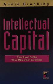 Cover of: Intellectual capital