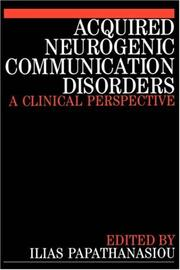 Cover of: Acquired Neurogenic Communication Disorders