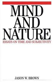 Cover of: Mind and Nature