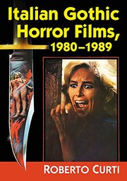 Italian Gothic Horror Films, 1980-1989