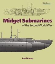 Cover of: Midget Submarines of the Second World War (Chatham Pictorial Histories)