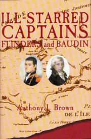 Ill-starred captains by Anthony J. Brown