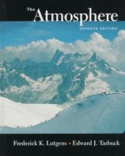 Cover of: Atmosphere, The: An Introduction to Meteorology