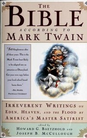 Cover of: The Bible according to Mark Twain by Mark Twain