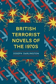 Cover of: British Terrorist Novels of the 1970s